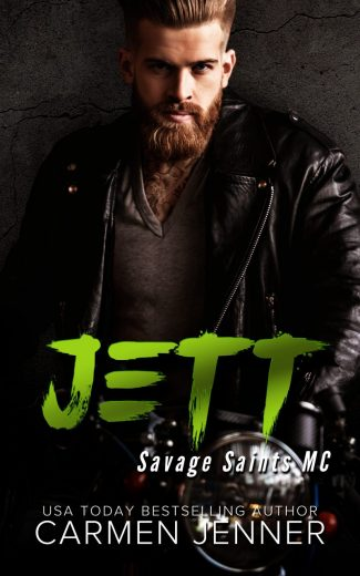 Release Day Blitz & Giveaway: Jett (Savage Saints MC #3) by Carmen Jenner