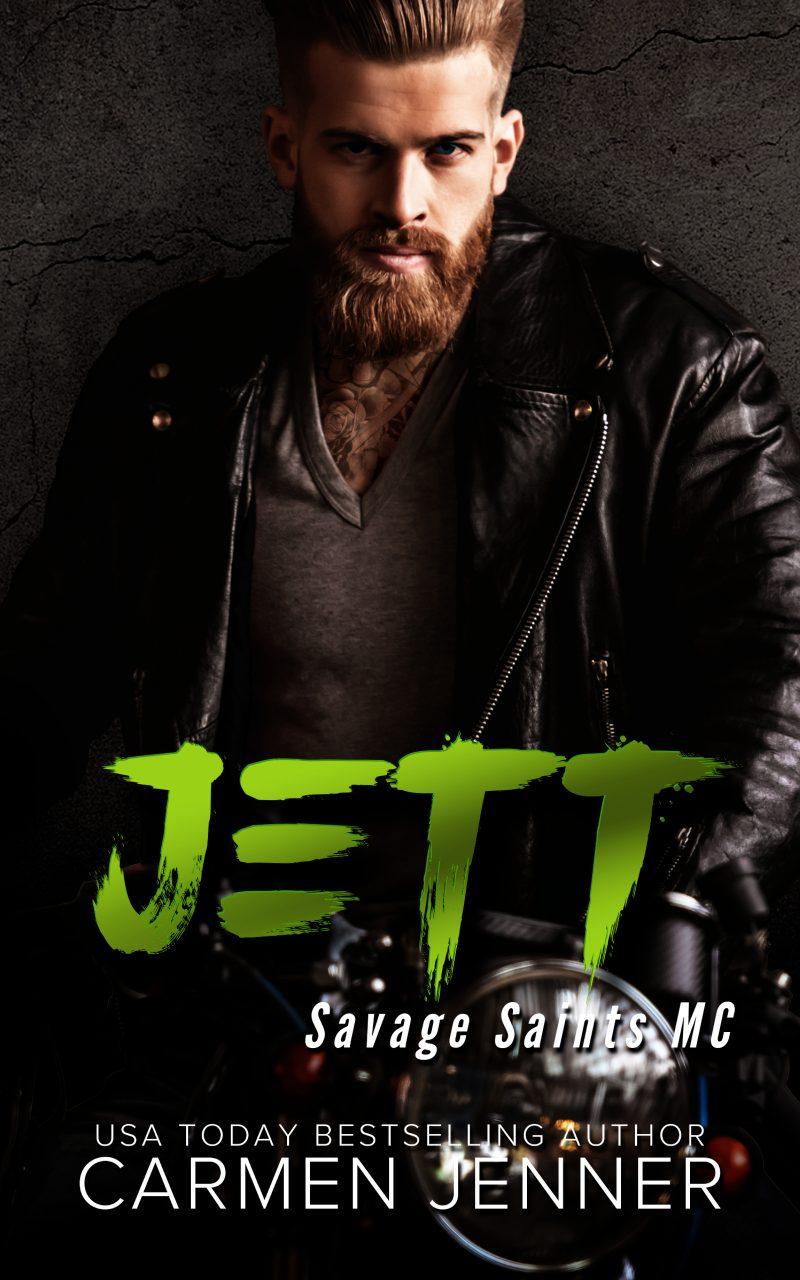 Release Day Blitz & Giveaway: Jett (Savage Saints MC #3) by Carmen Jenner