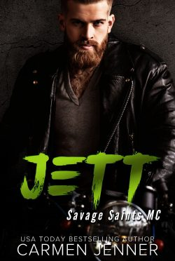 Cover Reveal: Jett (Savage Saints MC #3) by Carmen Jenner