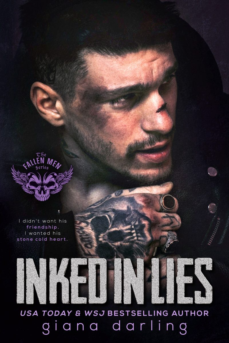Cover Reveal: Inked in Lies (The Fallen Men #5) by Giana Darling