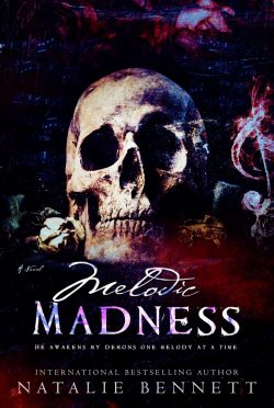 Cover Reveal: Melodic Madness (Coveting Delirium #2) by Natalie Bennett