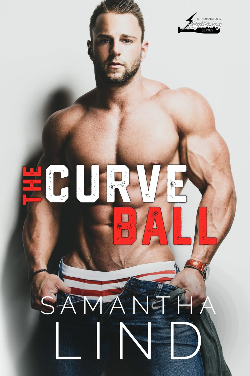 Cover Reveal: The Curve Ball (Indianapolis Lightning #2) by Samantha Lind