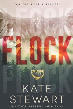 Cover Reveal: Flock (The Ravenhood #1) by Kate Stewart