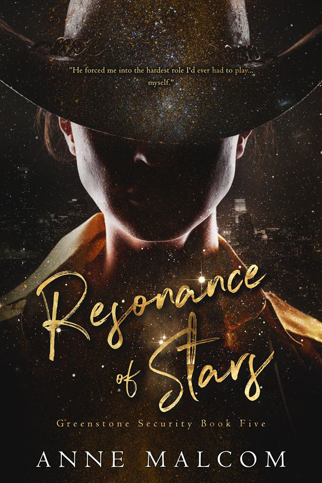 Cover Reveal: Resonance of Stars (Greenstone Security #5) by Anne Malcom