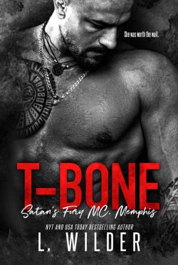 Cover Reveal: T-Bone (Satan's Fury MC: Memphis #9) by L Wilder