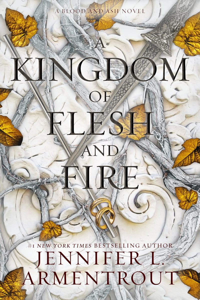 Cover Reveal: A Kingdom of Flesh and Fire (Blood and Ash #2) by Jennifer L Armentrout