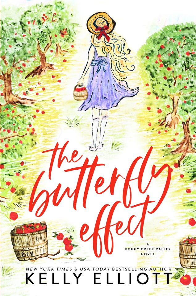 Cover Reveal: The Butterfly Effect (Boggy Creek Valley #1) by Kelly Elliott