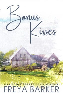 Cover Reveal: Bonus Kisses by Freya Barker