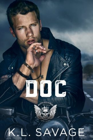 Cover Reveal: Doc (Ruthless Kings MC #7) by KL Savage