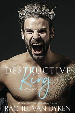 Cover Reveal: Destructive King (Mafia Royals #3) by Rachel Van Dyken