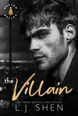 Cover Reveal: The Villain (Boston Belles #2) by LJ Shen