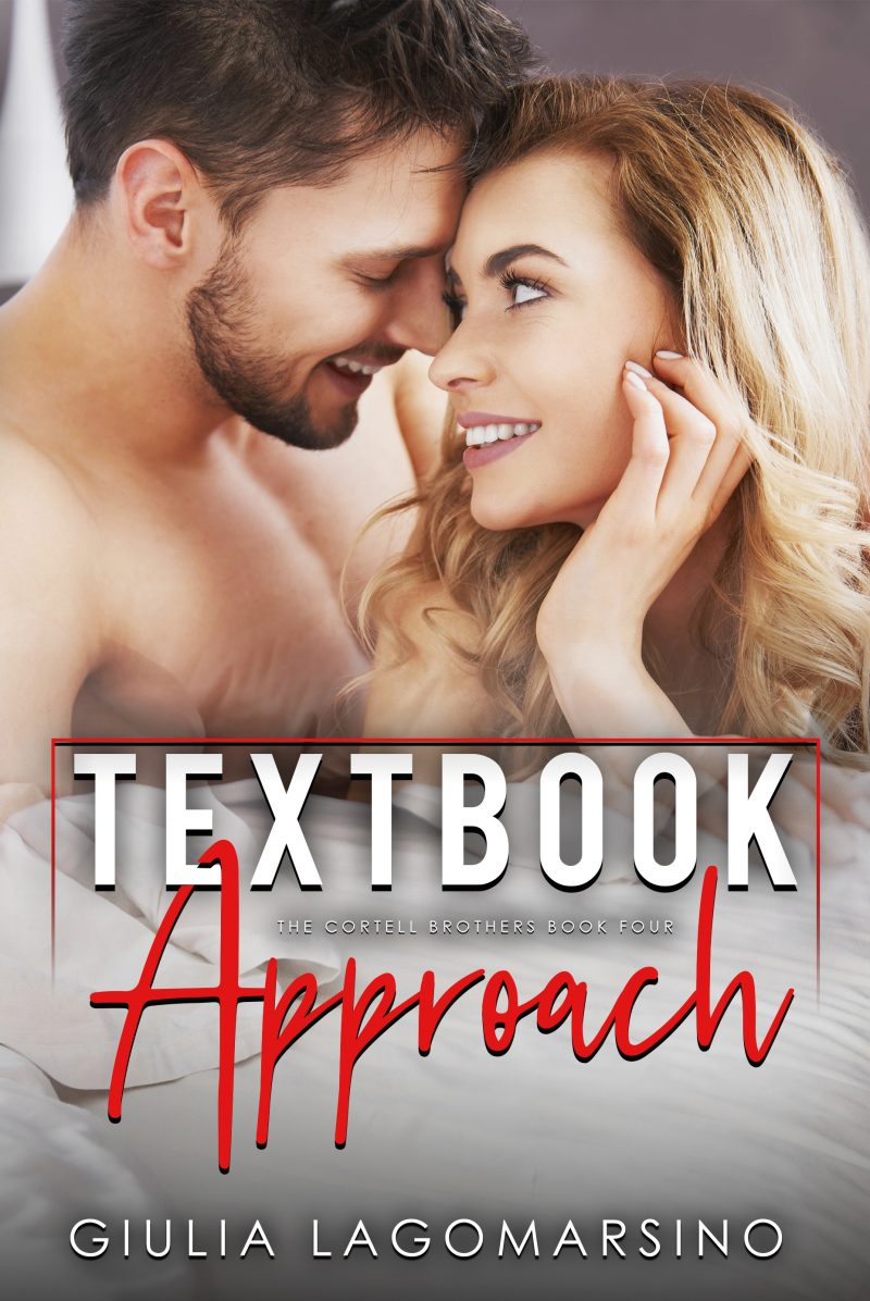 Cover Reveal: Textbook Approach (The Cortell Brothers #4) by Giulia Lagomarsino