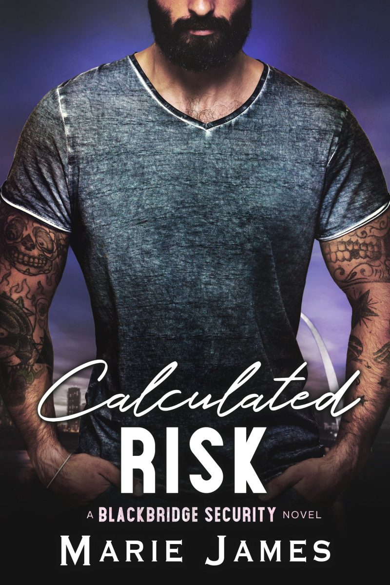 Cover Reveal: Calculated Risk (Blackbridge Security #5) by Marie James