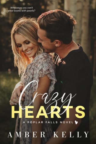 Cover Reveal: Crazy Hearts (Poplar Falls #5) by Amber Kelly