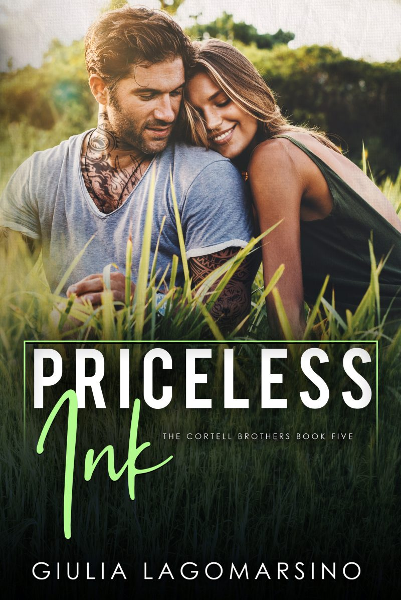Cover Reveal: Priceless Ink (The Cortell Brothers #5) by Giulia Lagomarsino