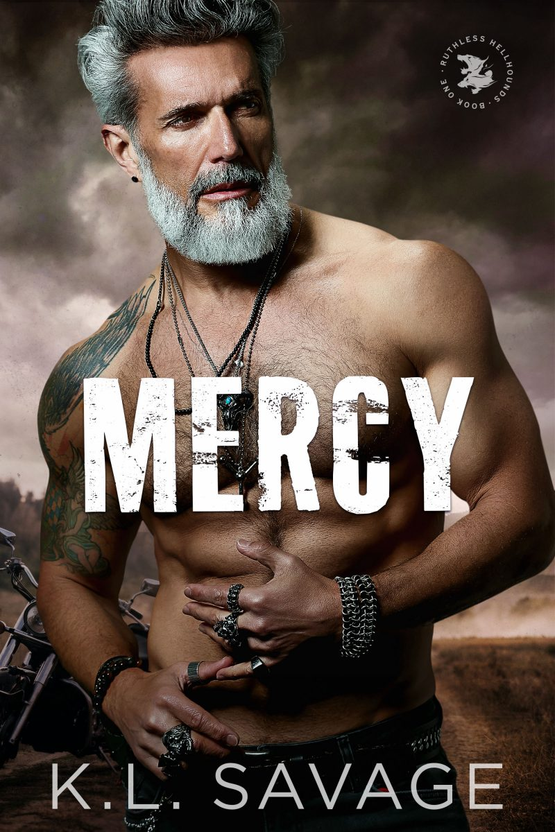 Cover Reveal: Mercy (Ruthless Hellhounds MC #1) by KL Savage