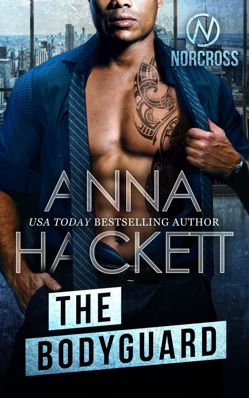 Cover Reveal: The Bodyguard (Norcross #4) Anna Hackett
