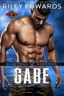 Release Day Blitz: Gabe (Blue Team #2) by Riley Edwards