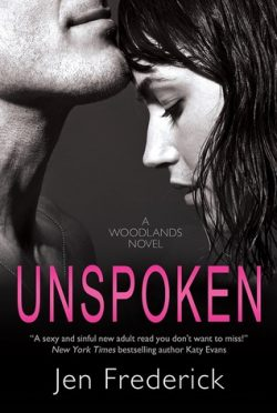 Review : Unspoken (Woodlands #2) by Jen Frederick