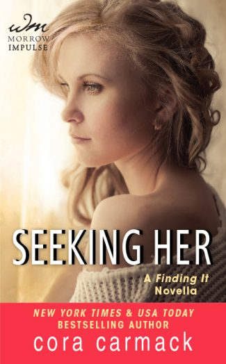 Cover Reveal: Seeking Her (Losing It #3.5) by Cora Carmack