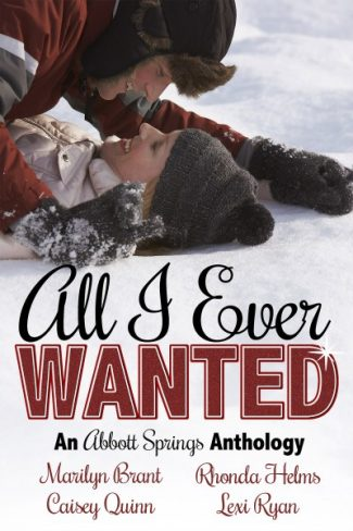 Cover Reveal: All I Ever Wanted Anthology by Lexi Ryan, Rhonda Helms, Marilyn Brant & Caisey Quinn