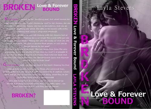 Broken Love and Forever Bound Jacket