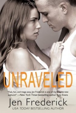 Cover Reveal & Giveaway: Unraveled (Woodlands #3) by Jen Frederick