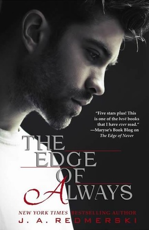Book Launch, Review & Giveaway: The Edge of Always (The Edge of Never #2) by J.A. Redmerski
