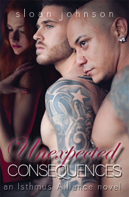 Cover Reveal: Unexpected Consequences (Isthmus Alliance #3) by Sloan Johnson