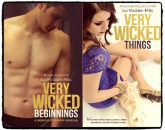Reviews & Giveaway: Very Wicked Beginnings & Very Wicked Things (Briarcrest Academy #1.5 & 2) by Ilsa Madden-Mills