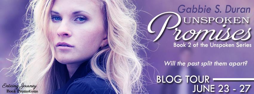 Unspoken Promises Blog Tour Banner