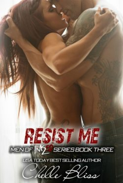 Cover Reveal & Giveaway: Resist Me (Men of Inked #3) by Chelle Bliss