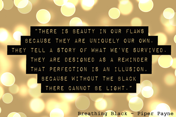 Breathing Black Quote Flaws
