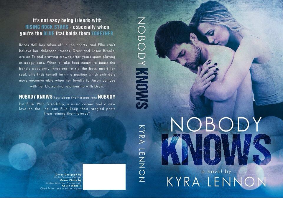 Kyra Lennon's Nobody Knows Book Jacket