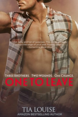 Cover Reveal: One to Leave (One to Hold #5) by Tia Louise