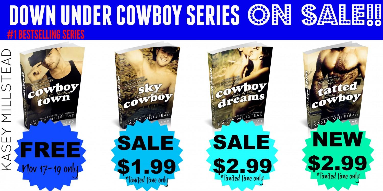 Down Under Cowboy series sale