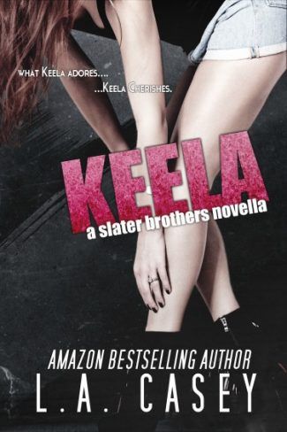 Cover Reveal & Giveaway: Keela (Slater Brothers #2.5) by L.A. Casey