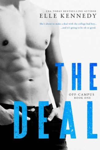 Cover Reveal: The Deal (Off-Campus #1) by Elle Kennedy