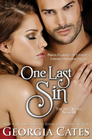 Cover Reveal: One Last Sin (The Sin Trilogy #3) by Georgia Cates