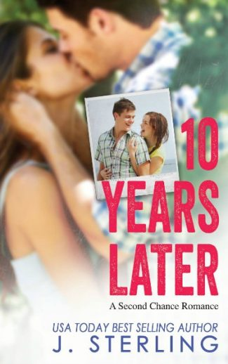Cover Reveal: 10 Years Later by J. Sterling