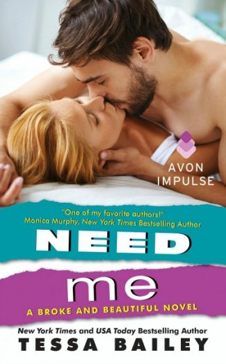 Promo & Giveaway: Need Me (Broke and Beautiful #2) by Tessa Bailey