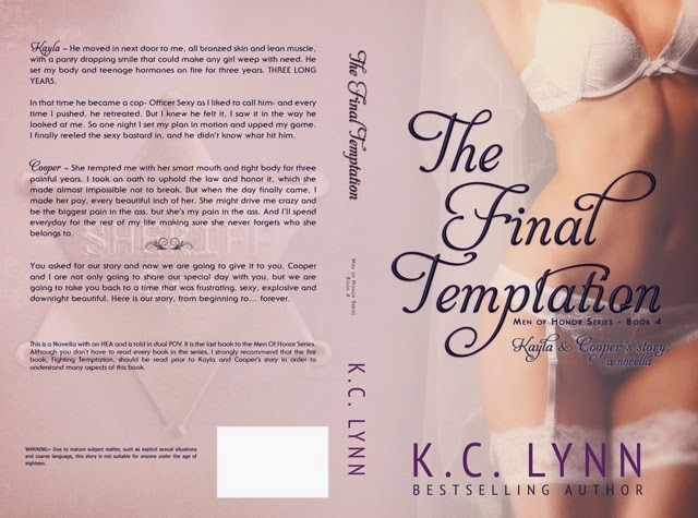 Book cover - The Final Temptation cover