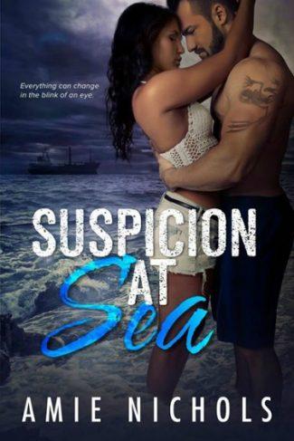 Cover Reveal: Suspicion At Sea by Amie Nichols