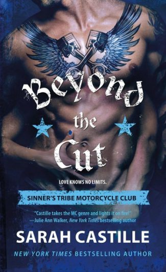 Excerpt Reveal & Giveaway: Beyond the Cut (Sinner's Tribe Motorcycle Club #2) by Sarah Castille