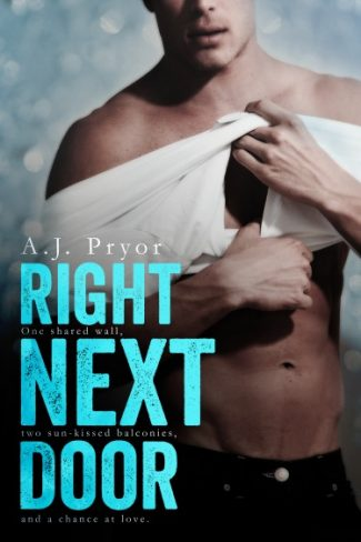 Cover Reveal & Giveaway: Right Next Door by A.J. Pryor