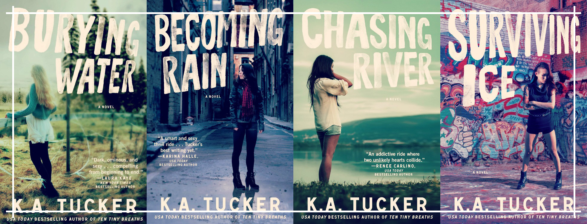 Burying Water Series - K. A. Tucker