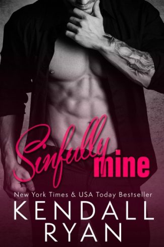Cover Reveal: Sinfully Mine (Lessons with the Dom #2) by Kendall Ryan