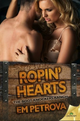 Release Day Blitz & Giveaway: Ropin' Hearts (Boot Knockers Ranch #4) by Em Petrova
