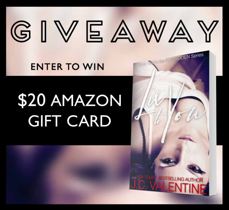Lie to You CR Giveaway Graphic