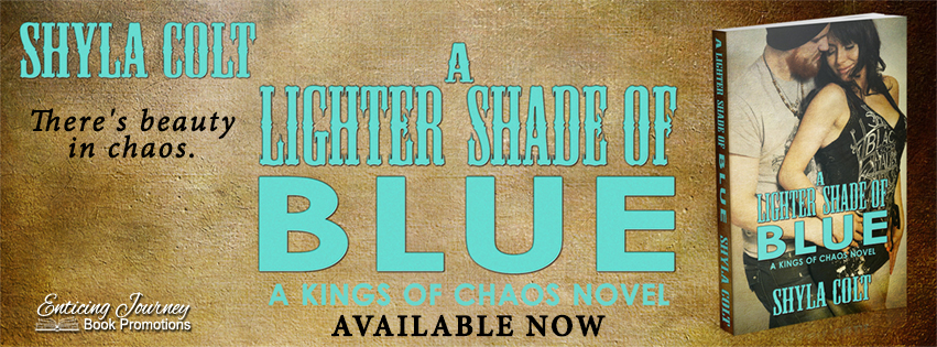 A Lighter Shade of Blue Release Banner